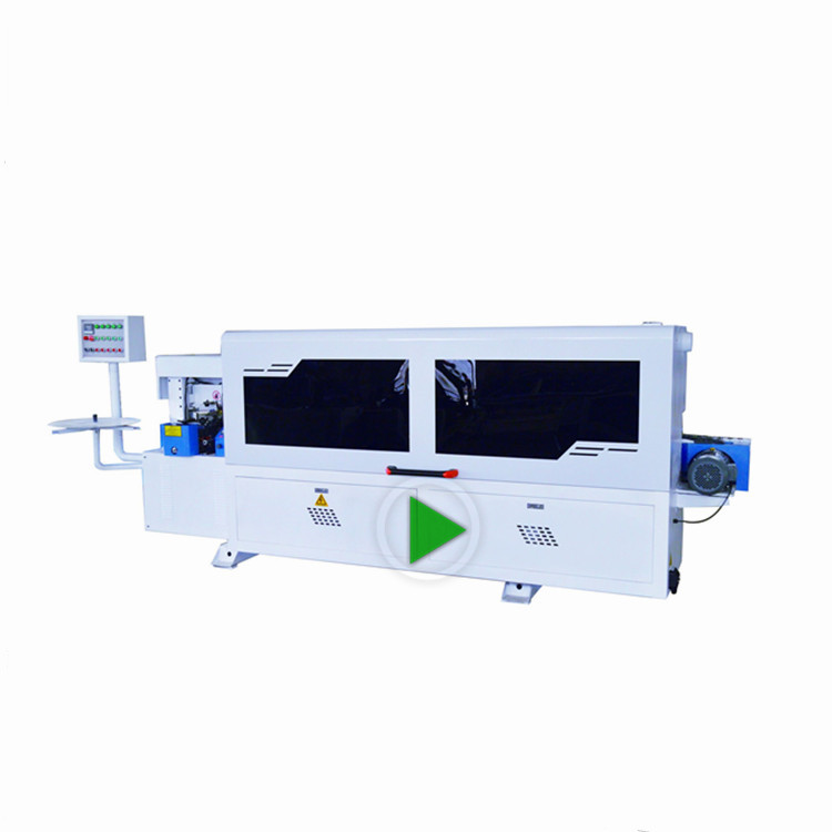 woodworking machinery edge banding machine price for linear sealing of PVC wood plank and venner
