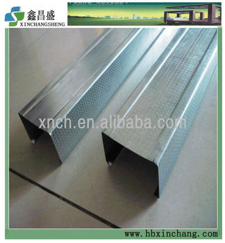 Steel Frame Building Aluminum Channel Gypsum Board Stud