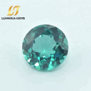 China factory direct high quality lab created 134A# nano hydro emerald stone