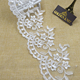 Golden Knit Embroidered Saree Border Sequin Lace Fabric for Making Dress T914#