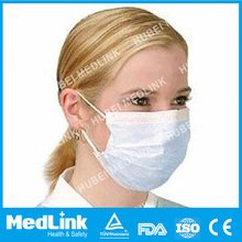 Hot Selling Medlink Non-woven Disposable Surgical Face Mask