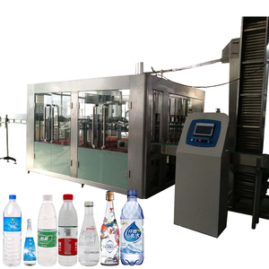 Bottled drinking mineral water plant project