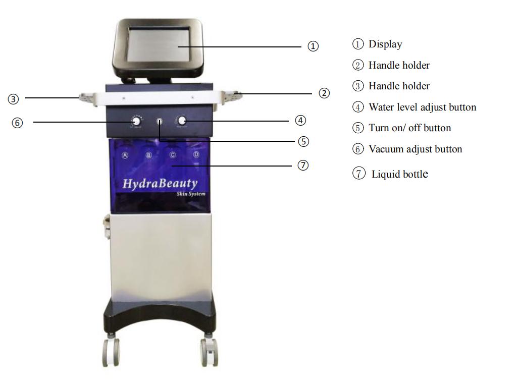10 in 1 hydra beauty skin care hydrofacials jet peel facial machine
