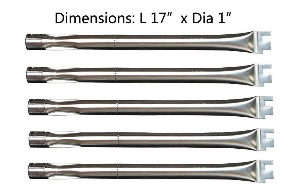 (USA Warehouse) BBQ Parts SBC041(5-pack) 13041 Replacement Straight Stainless Steel Burner NEW -/PT# HF983-1754383727