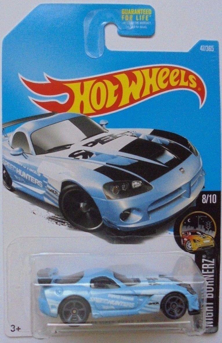 1998 Hot Wheels #724 Dash 4 Cash Series #4 Dodge Viper RT//10 blue car card