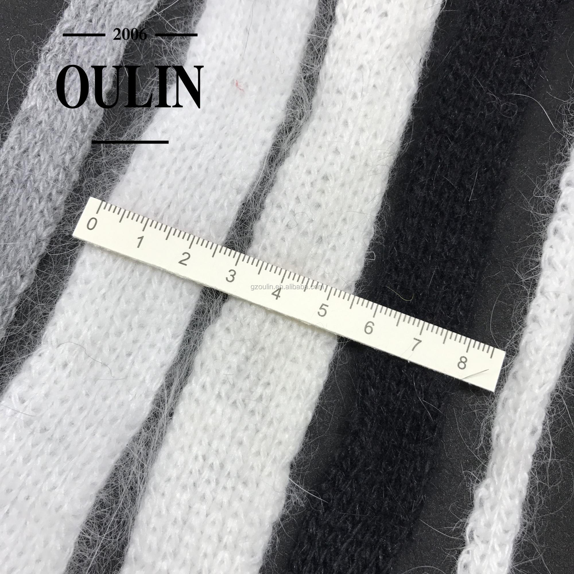 Custom wholesale cuff fabric rib knit trim sleeves use trim cheap price hot selling rib trims common use trims