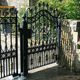 China steel house iron main gate designs