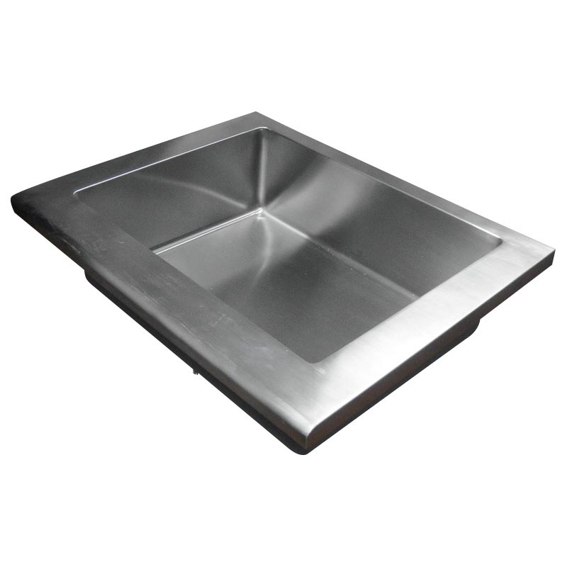 Kohler Stainless Steel Kitchen Sink With Wide Set Faucet