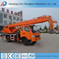 Railway Equipment 8 Ton Truck Crane Manufacturer for sale
