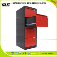Legal size commercial steel 4 drawer metal filing cabinet office furniture in luoyang