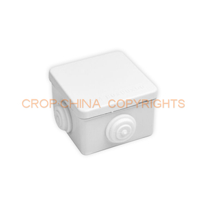 80*80*50 Customized Plastic ABS Enclosure Box IP67 Connection PVC Cable Screw Waterproof Electrical Junction Boxes