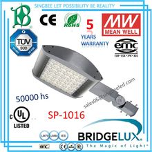 UL DLC IP66 led street light shell SP-1016, MC Monaco