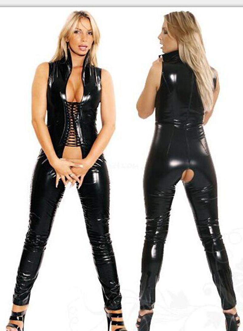 sex in helmstedt catwoman kostüm latex