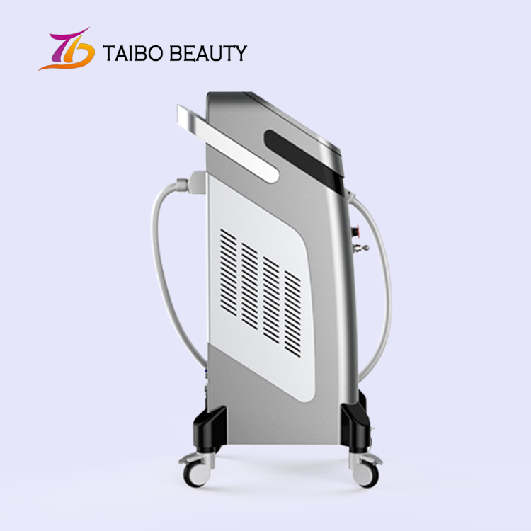 Pop Diode Laser Italy Pump Hair Removal Beauty / Vertical Hairy Depilation Machine