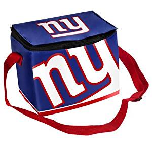 Forever Collectibles NFL Big Logo Team Lunch Bag Cooler ( Color:New York Giants New York Giants) by Forever Collectibles