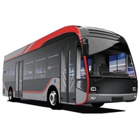 2019 Chinese brand the new launch model electric city bus 12m for sale