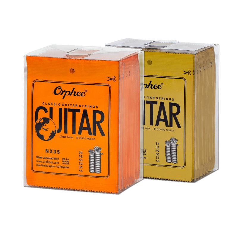 Wholesale Cheap Price Guitar Accessories Classical Nylon Guitar Strings For Sale Cordes de guitare en nylon фото