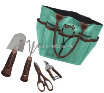 Blooms 5 piece gardening tool set jld s0048 buy garden for Garden tool set for women