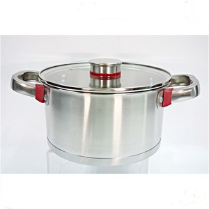MSF stainless steel casserole pot cooking pot set MSF-8007-2