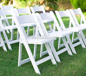 Popular folding 6 seats table cheap plastic stacking chairs