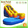 China high quality popular used inflatable volcano water slide for sale