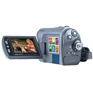 DXG 571V 5MP Ultra-Compact Camcorder (Silver) (Discontinued by Manufacturer)