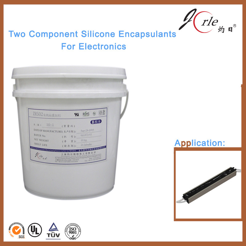 Deep potting silicone compound for LED bar