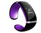 L12S Men's OLED Smart Wrist Watch Bracelet For Android & IOS phone wristwatches Cell Phone health smart band
