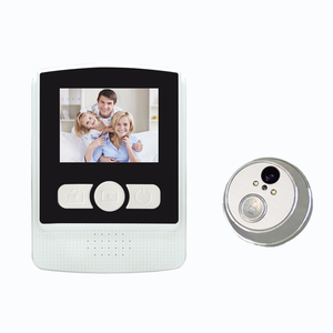 2.4 inch motion detection infrared digital door viewer peephole /door viewer camera
