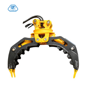 Bobcat 753 spare parts rotation stone Grapple for excavator 6-15ton