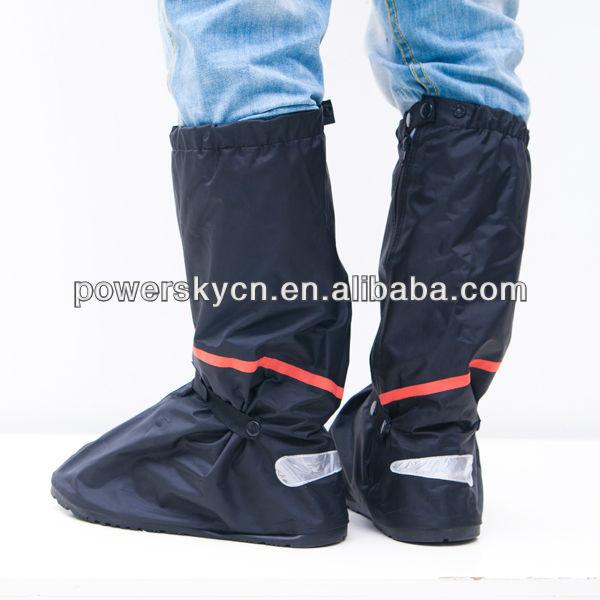b0d92d91014 Mens capa de chuva botas de chuva cobre-sapatos moto capa impermeável  sapatos