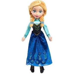 Top selling 11.5 inch Plush frozen Anna princess dolls