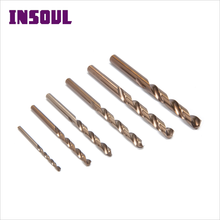 INSOUL Bulk Products From China HRC 65-67 HSS Fully Cobalt Taper Twist Ground Drill Bits
