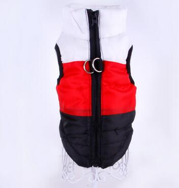 Dog Clothes Puppy Coat Vest Waterproof Pet Ski Vest Windproof Warm Dogs Cotton Vest Pet Ski Jacket