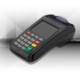 New7210 handheld debit credit card payment terminal with integrated printer