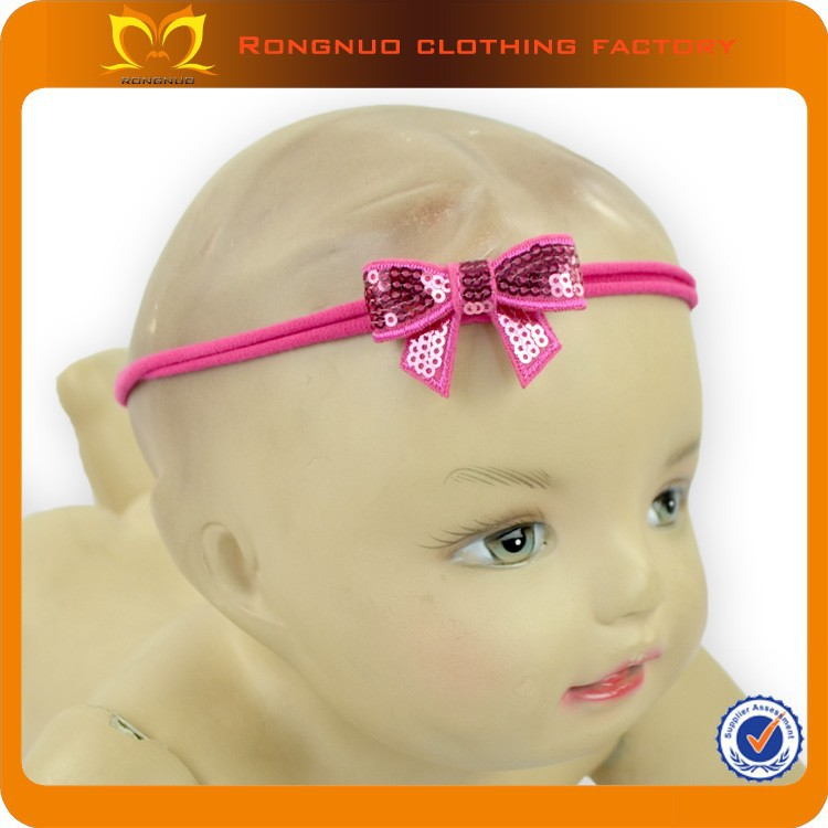 2015 Cute Fancy Bow Baby Girls Headband Girls Elastic Top Headbands Children Hair band