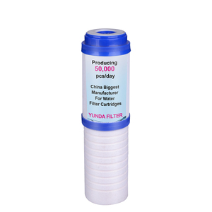 10 Inch PP Sediment Poly Spun and Activated Carbon Water Filter