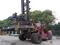 Forklift Trucks , Used Heavy Forklift Equipment , Used 40 ton Container Lifting Fork Lift Truck