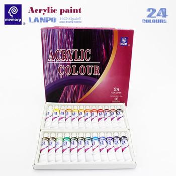 Speicher 24 Farbe Acryl Farbe Professionelle Amazon Heisser Verkauf