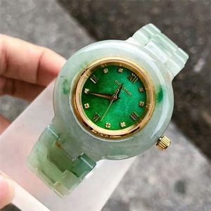 New Arrival Fashion Beautiful natural high quality jadeite watch