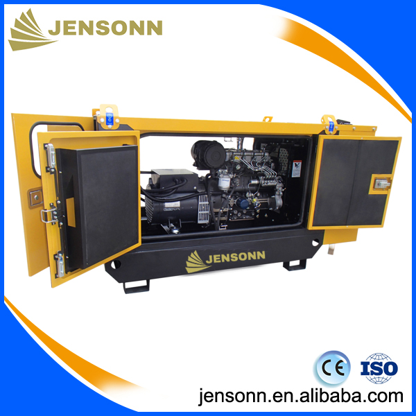 Jensonn J6G282C 127V ultra silent diesel generator sets for government building area power supply use