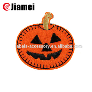 Christmas cartoon applique embroidery pumpkin patch