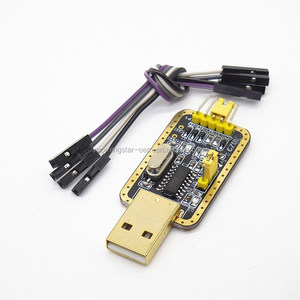 [ MZX-TECH] Golden Version~ USB to TTL UART CH340 - Serial Converter, 5V/3.3V - Universal. Not need switching. IC CH340G