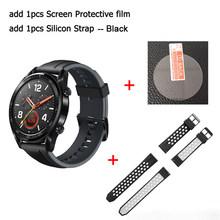 HUAWEI WATCH GT Смарт спортивные часы 1,39 дюймов AMOLED цветной экран Heartrate отчет gps плавание Бег Велоспорт сна монитор Часы(Китай)
