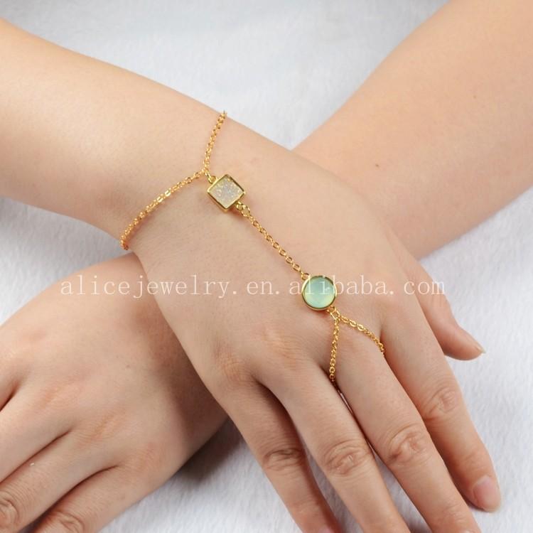 Slave Bracelets with Ring