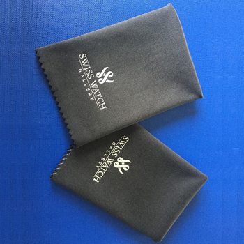 Large size suede quickie microfiber cloth for jewelry