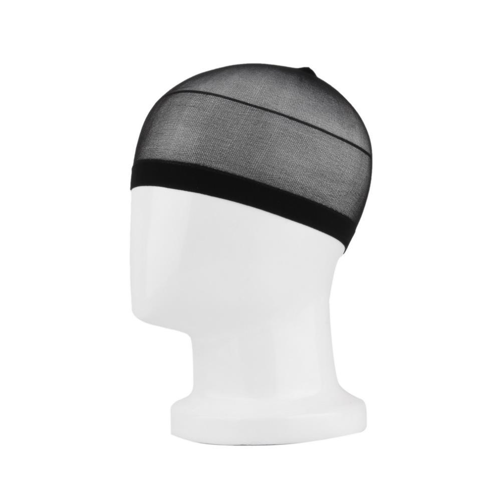 2 шт. чулок нейлон стретч парик лайнер Cap поводка сетки для волос сетка черными мужской