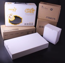 Accept OEM service durable cardboard packaging box folding storage box