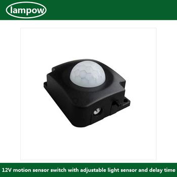 Lp-8023 Motion Sensor Switch For Led Light Adjustable Delay Time ...