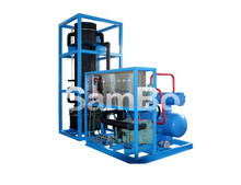 Sambo 5T Snow Ice Tuber Making Machine For Drinking and Cold Storage with Bitzer Compressor